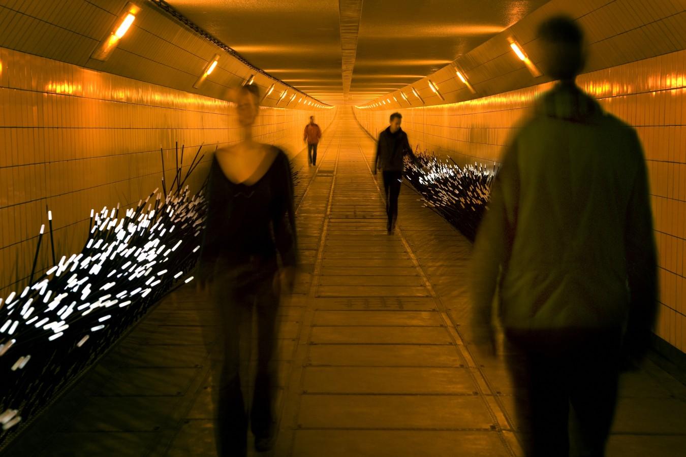 پله های موزیکال یک طراحی خلاقانه،معماری منظر،المان های شهری