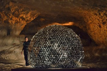 Lotus Dome in magical cave of Jerusalem